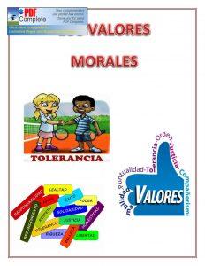 Tipos de valores morales Parte 2